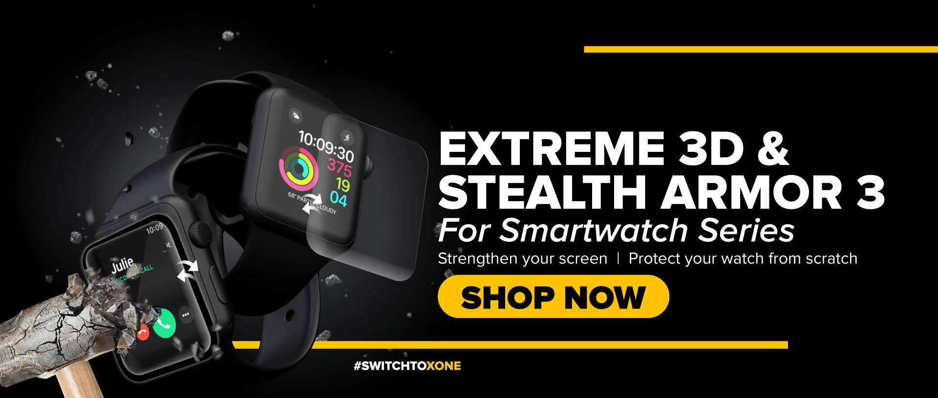 X.One® - Protect Your SmartWatch