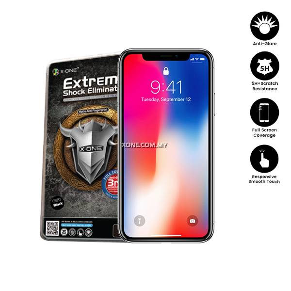 new arrival 4a17e 84281 Apple iPhone X ( iPhone 10 ) Full Coverage Matte Film Screen Protector