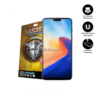 OnePlus 6 X-One Extreme Shock Eliminator Screen Protector