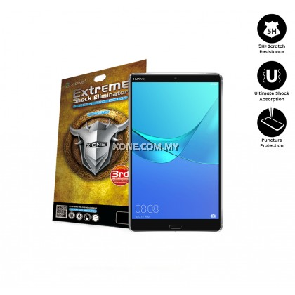 "Huawei Mediapad M5 8.4"" X-One Extreme Shock Eliminator Screen Protector"