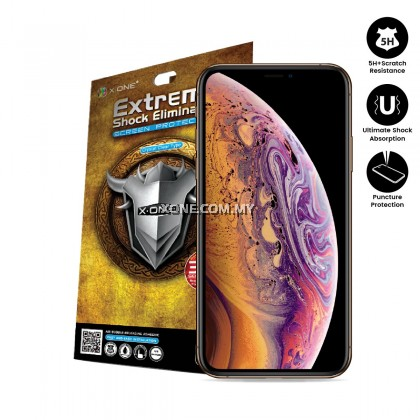 "Apple iPhone XS ( 5.8"" ) X-One Extreme Shock Eliminator Screen Protector"