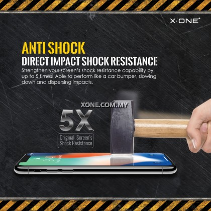 "Apple iPhone XS Max ( 6.5"" ) X-One Extreme Shock Eliminator Screen Protector"