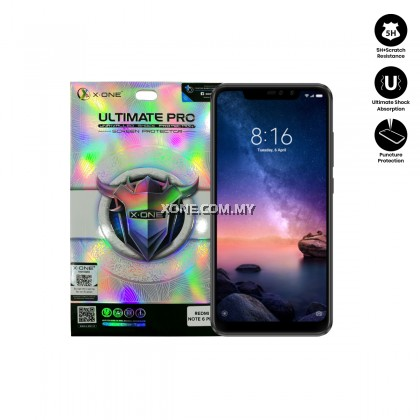 Redmi Note 6 Pro X-One Ultimate Pro Screen Protector