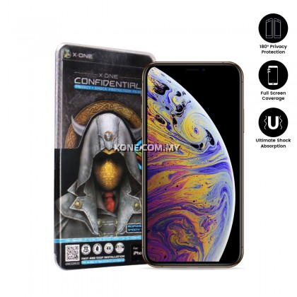"Apple iPhone XS Max ( 6.5"" ) Confidential Screen Protector"