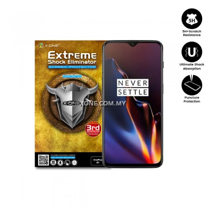 OnePlus 6T X-One Extreme Shock Eliminator Screen Protector