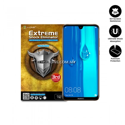 Huawei Y Max X-One Extreme Shock Eliminator Screen Protector