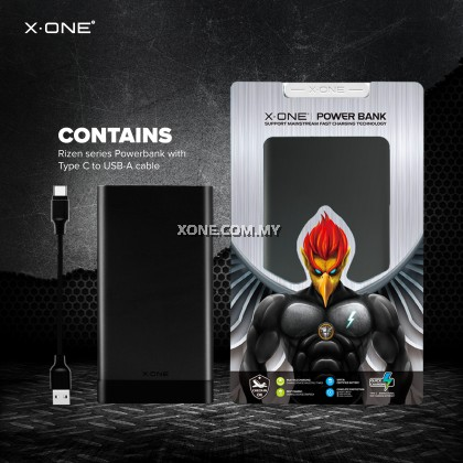 X-One Rizen Series Powerbank 10000 mAh ( MB-01 )