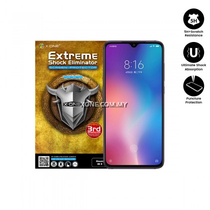 Xiaomi Mi 9 X-One Extreme Shock Eliminator Screen Protector