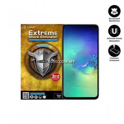 Samsung Galaxy S10e X-One Extreme Shock Eliminator Screen Protector