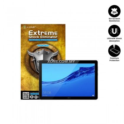 Huawei MediaPad T5 ( 10.1 ) X-One Extreme Shock Eliminator Screen Protector