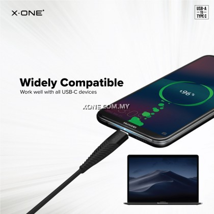 X-One® Ultra Pro 5A Cable [ PD support ] ( Type-C to Type-A USB )