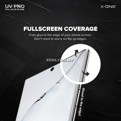 Samsung Galaxy S9 Plus X-One UV Pro Full Glue Glass Screen Protector