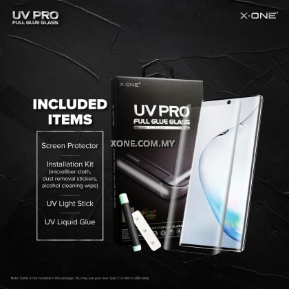 Samsung Galaxy Note 9 X-One UV Pro Full Glue Glass Screen Protector