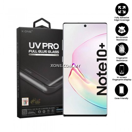 Samsung Galaxy Note 10 Plus X-One UV Pro Full Glue Glass Screen Protector