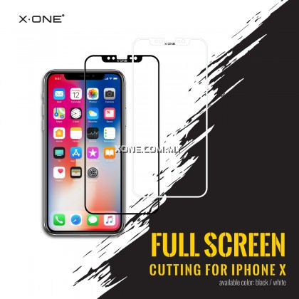 """Apple iPhone 11 Pro Max ( 6.5"""" ) X-One Full Coverage Extreme Shock Eliminator Screen Protector ( Clear )"""