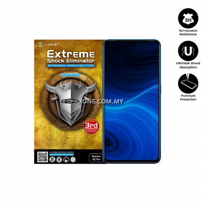 Oppo Realme X2 Pro X-One Extreme Shock Eliminator Screen Protector
