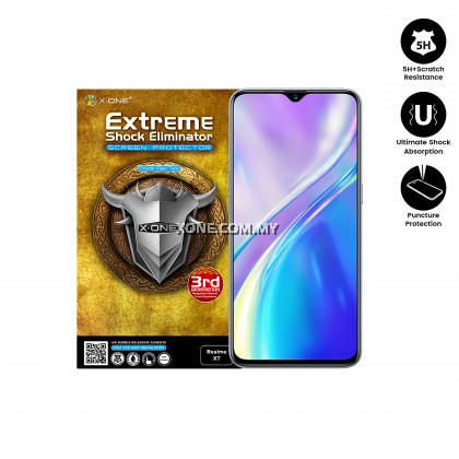 Oppo Realme XT X-One Extreme Shock Eliminator Screen Protector