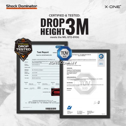 Huawei Mate 30 Pro X-One Drop Guard 3S Shock Dominator Impact Protection Case