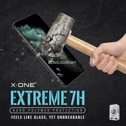"""Apple iPhone XR ( 6.1"""" ) X-One Extreme Shock Eliminator 7H ( 4th Generation ) Full Coverage Screen Protector"""