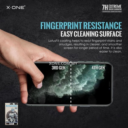 "Apple iPhone X ( 5.8"" ) X-One Armorvisor 7H Anti Blue Light Eye Protection Screen Protector (4TH - GEN)"