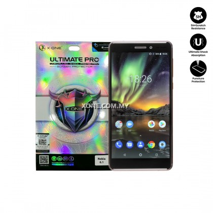 Nokia 6.1 X-One Ultimate Pro Screen Protector