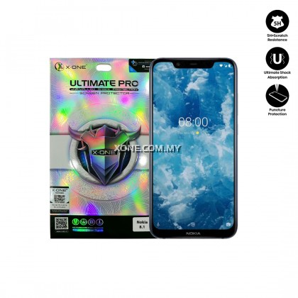 Nokia 8.1 X-One Ultimate Pro Screen Protector