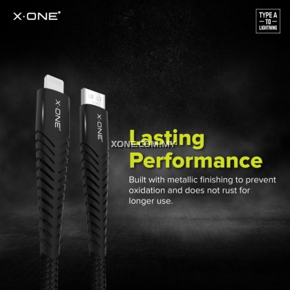 X.One® Zoom Cable – USB to Lightning Cable ( 1M )