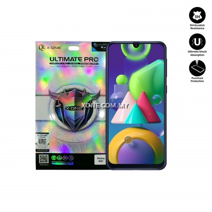 Samsung Galaxy M21 X-One Ultimate Pro Clear Screen Protector