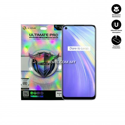 Oppo Realme 6 X-One Ultimate Pro Clear Screen Protector