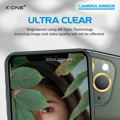 X.One Camera Armor Lens Protector for iPhone 12 Pro Max / 12 Pro / 12 / 12 Mini