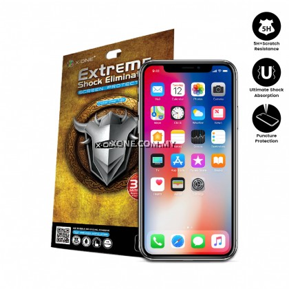 Apple iPhone X ( iPhone 10 ) Extreme Shock Eliminator Screen Protector