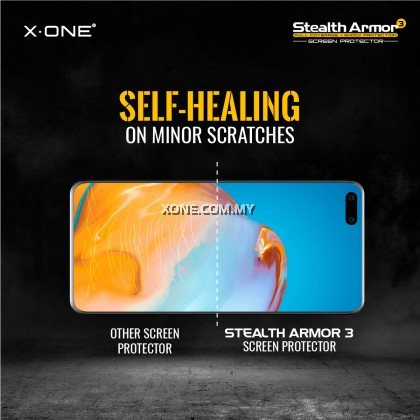X.One Stealth Armor 3 ( Matte Series ) Customization Screen Protector for Smartphones Watches