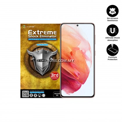 Samsung Galaxy S21 / S21 Plus X-One Extreme Shock Eliminator ( 3rd Generation ) Clear Screen Protector