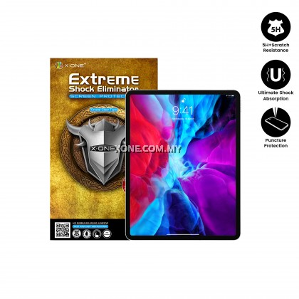 "Apple iPad Pro 2020 ( 12.9"" ) X-One Extreme Shock Eliminator Screen Protector"