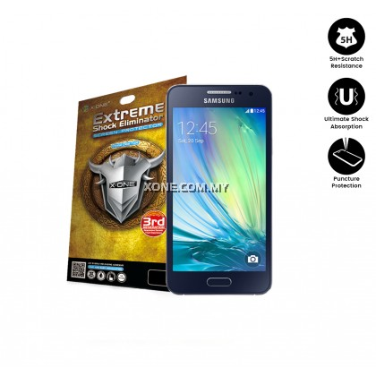 Samsung A3 X-One Extreme Shock Eliminator Screen Protector