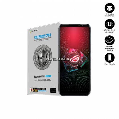 Asus ROG Phone 5 X.One Extreme Shock Eliminator 7H ( 4th Generation ) Screen Protector