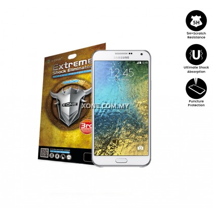 Samsung E7 X-One Extreme Shock Eliminator Screen Protector