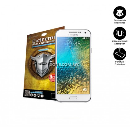 Samsung E5 X-One Extreme Shock Eliminator Screen Protector