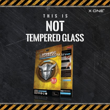 HTC Desire 816 X-One Extreme Shock Eliminator Screen Protector