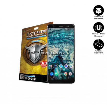 HTC U11 Plus X-One Extreme Shock Eliminator Screen Protector