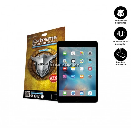 Apple iPad Mini 4 / 5 Extreme Shock Eliminator Screen Protector