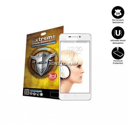Vivo X3S X-One Extreme Shock Eliminator Screen Protector