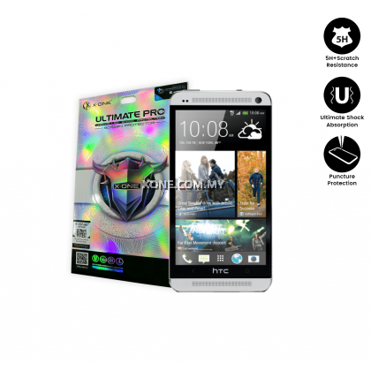 HTC One M7 X-One Ultimate Pro Screen Protector