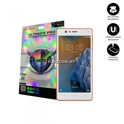 Nokia 3 X-One Ultimate Pro Screen Protector