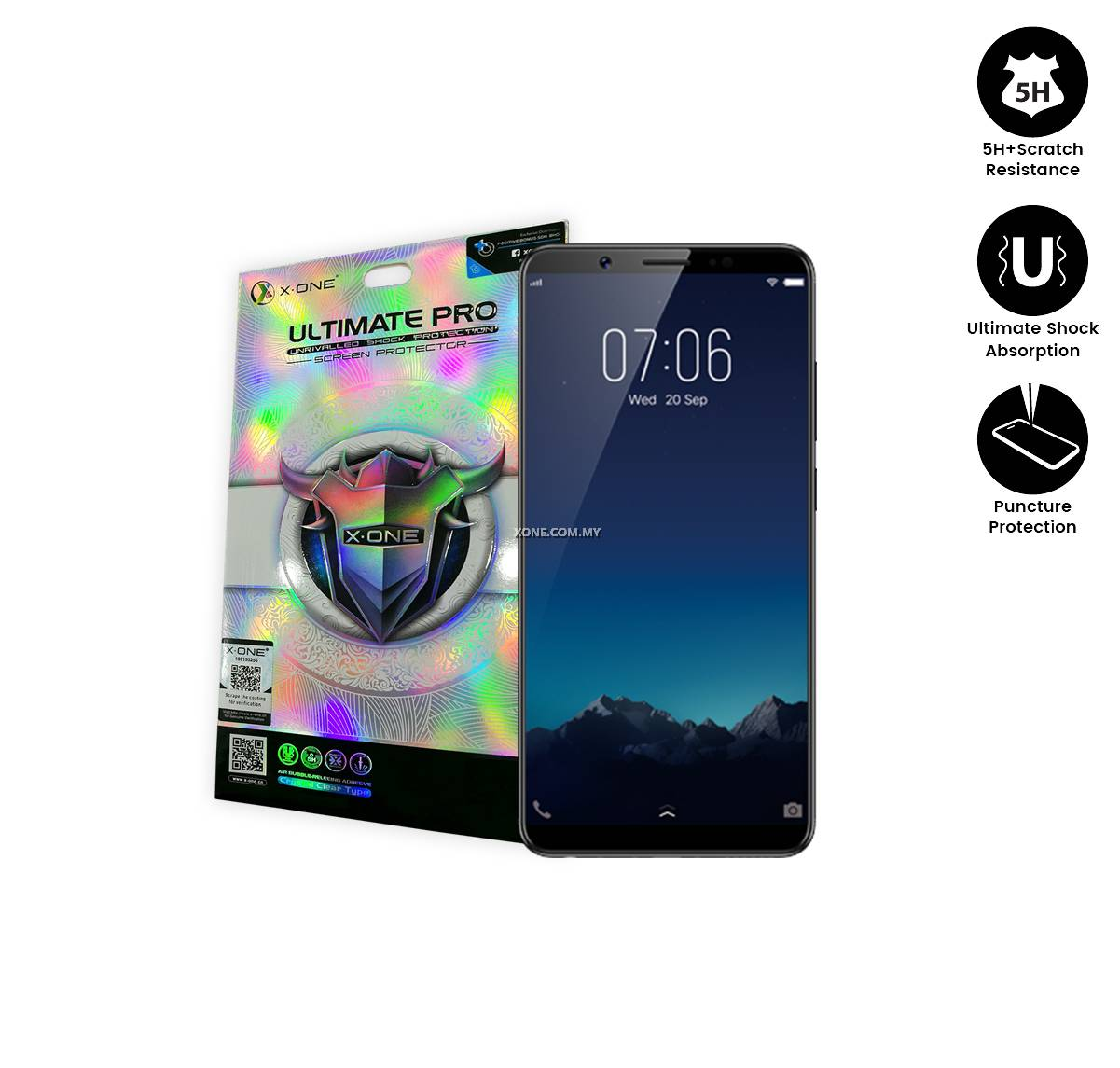 Vivo V7 Plus X-One Ultimate Pro Screen Protector