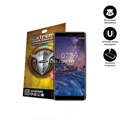 Nokia 7 Plus X-One Extreme Shock Eliminator Screen Protector