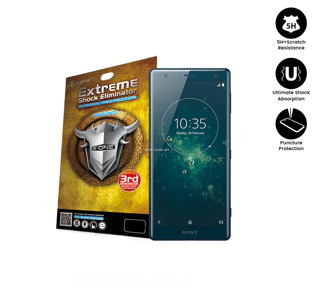 Sony Xperia XZ2 X-One Extreme Shock Eliminator Screen Protector