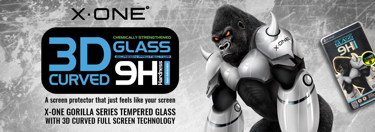 X-One Gorilla Glass Series Screen Protector