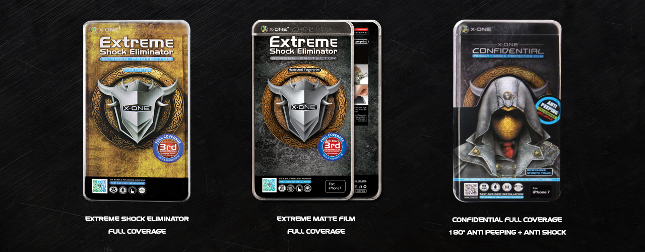 X-One Full Coverage Screen Protector for Flat Screen